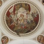 Kuppelfresko Pfarrkirche Halbturn