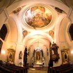 Kirche Halbturn innen