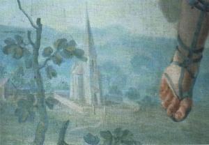 Kirche Halbturn, entstanden 1768